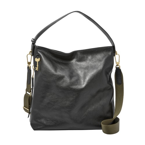 Fossil Maya Large Hobo Zb6980001 Color: Black