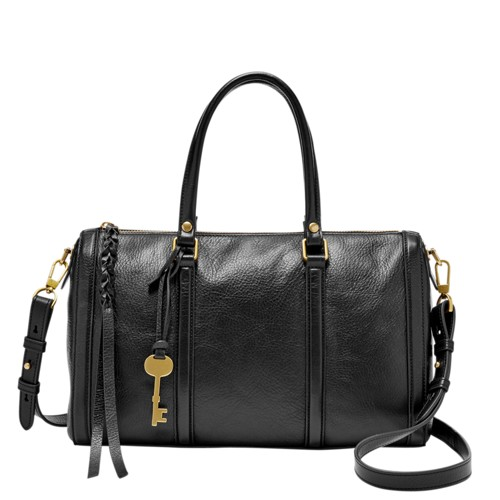 Fossil Kendall Satchel Zb7103001 Color: Black