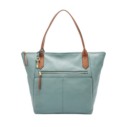Fossil Fiona Tote Zb7269494 Color: Steel Blue