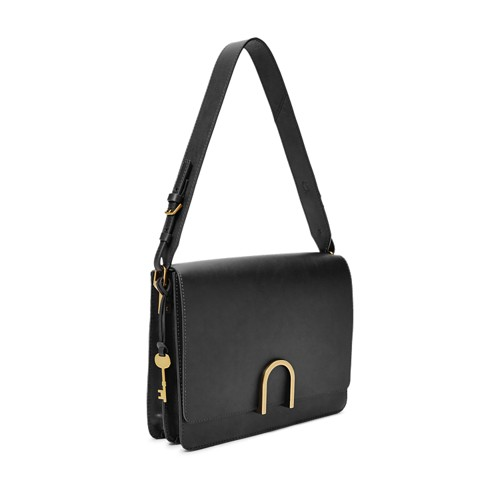 Fossil Finley Shoulder Bag Zb7453001 Color: Black