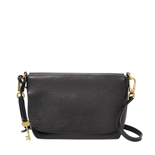 Fossil Maya Small Crossbody Zb7571001 Color: Black