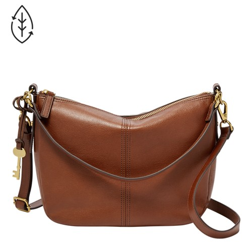 Brown Handbags And Brown Leather Handbags - Fossil