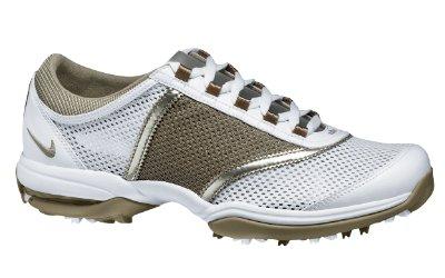 Nike Women's Air Summer Lite II Golf Shoe - White/Purple
