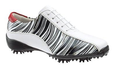 Footjoy Golf Shoes Women on Footjoy Women S Lopro Zebra Print Golf