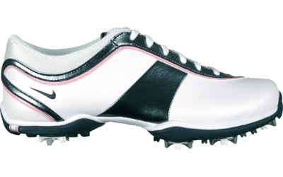 Nike Women's Ace Golf Shoe - White/Char/Pink