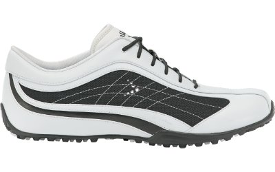 Callaway Golf Women's White/Black Spikeless Bliss Shoe
