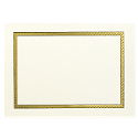 Horizontal Gold Border Photo Mount
