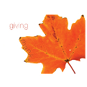 Giving Thanks Leaf