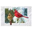 Cardinals Perching