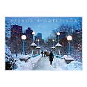Snowy Boston Path Calendar