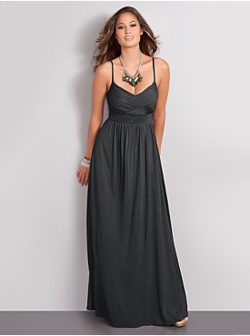 New York  & Company - Streetwear Goddess Maxi Dress :  recession chic goddess maxi dress new york amp company new york amp company streetwear goddess maxi dress