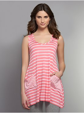 Love NY&C Collection - Long Striped Tank