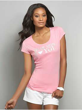 Love NY&C Collection - Dear Mom, I Heart You Tee