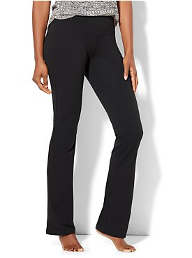 Love NY&C Collection -  Bootcut Yoga Pant - Petite