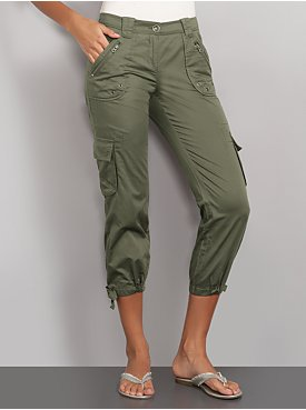 New York  & Company - Pants - The Battery Park Drawstring Crop Pant