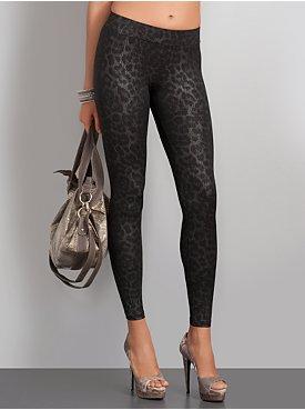 New York  & Company - Streetwear - Streetwear Leopard Print Leggings