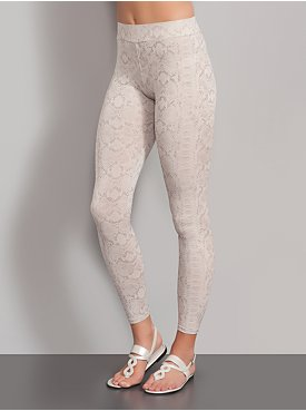 New York  & Company Streetwear Snake Print Leggings