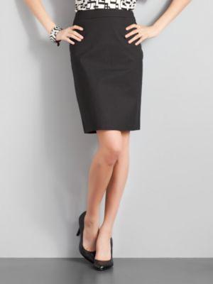 City Style Pencil Skirt - Black