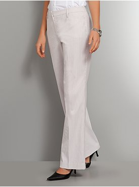 The 7th Avenue Bootcut Striped Pant - Petite