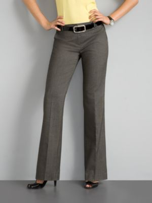 City Style Sharkskin Pants - Tall