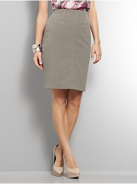 City Stretch Slim Pencil Skirt