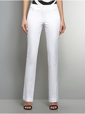 The Bleecker Street Sateen Bootcut Pant