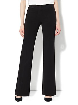 The Broadway Curvy City Double Stretch Bootcut Pant - Average