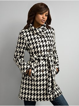 New York & Company: City Style Herringbone Coat