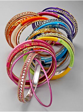 New York & Company: City Style Indian Bangle Bracelets