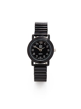 Bold Black Stretch Watch