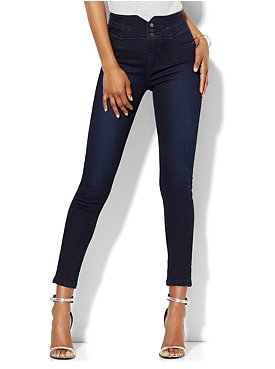 Skinny Leg Jean - Blue Skyline Wash - Tall