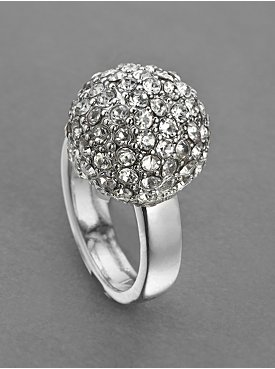 City Bright Glimmer Sphere Cocktail Ring