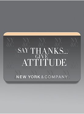 Say Thanks... Give Attitude Gift Card