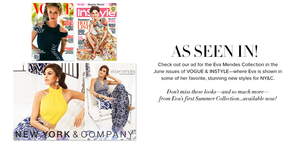 As Seen In! - New York & Company