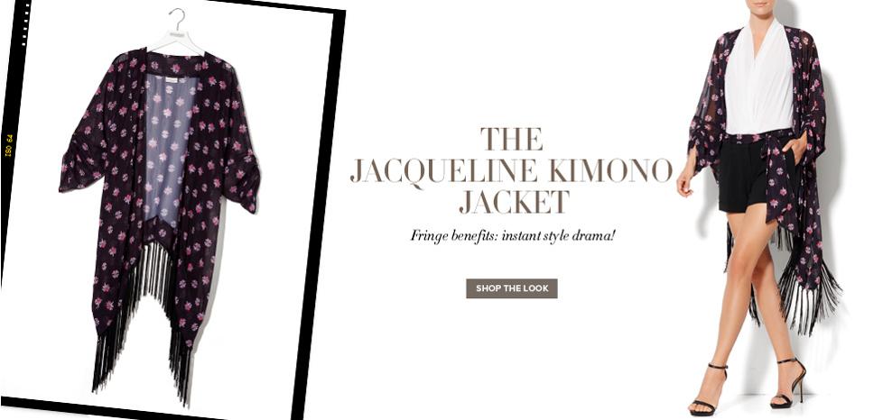 Jacqueline Kimono Jacket - New York & Company