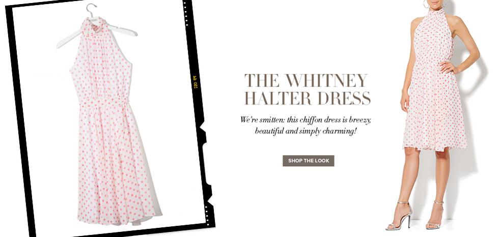 Whitney Halter Dress - New York & Company