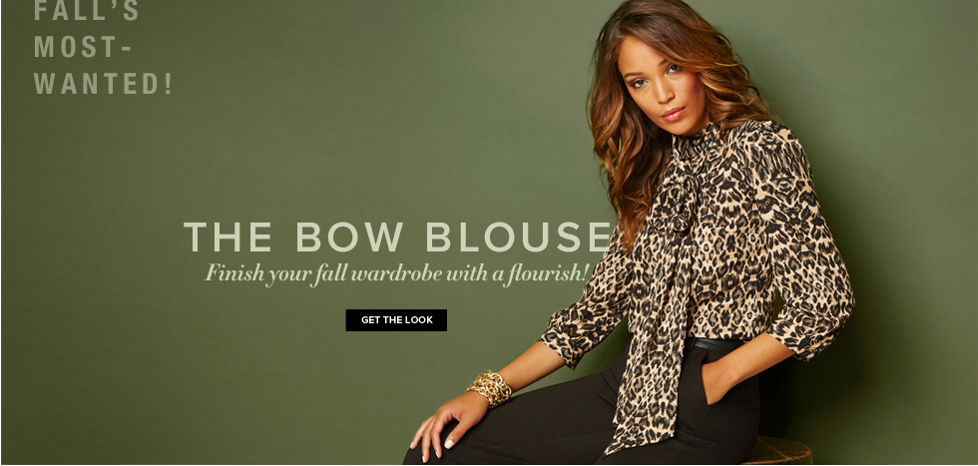 The Bow Blouse - New York & Company