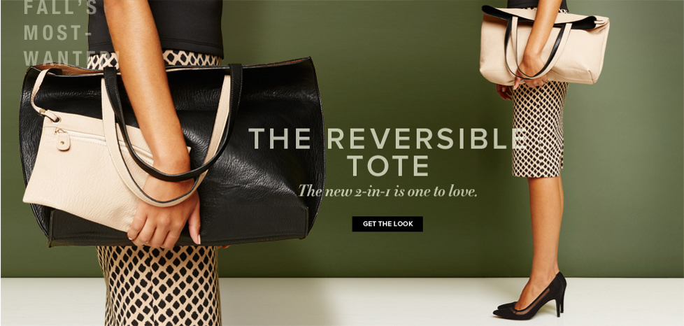 The Reversible Tote - New York & Company