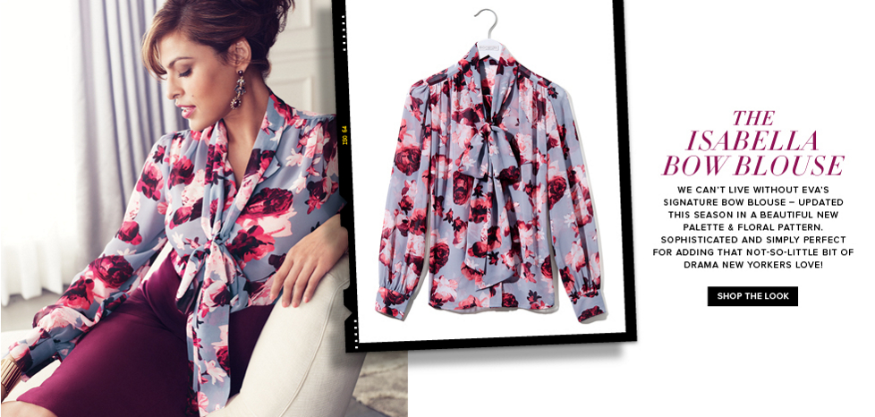 The Isabella Bow Blouse - New York & Company