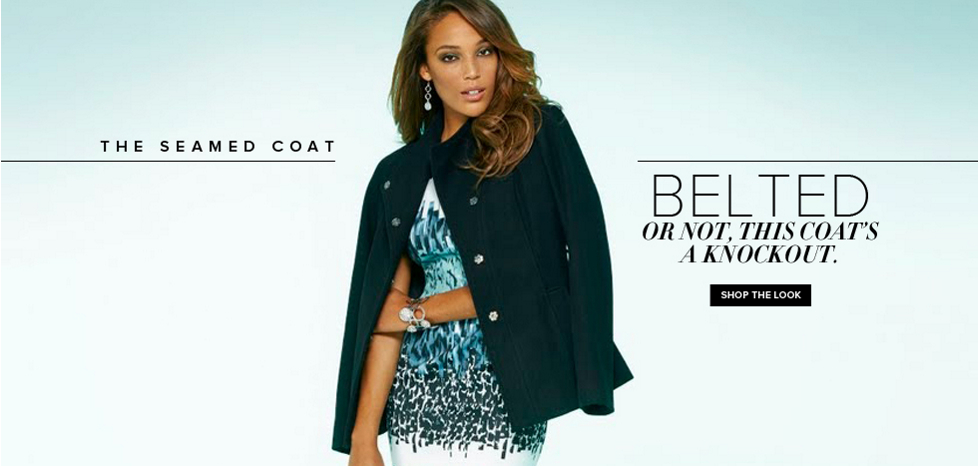 The Seamed Coat - New York & Company