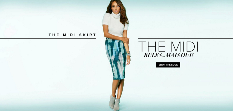 The Midi Skirt - New York & Company