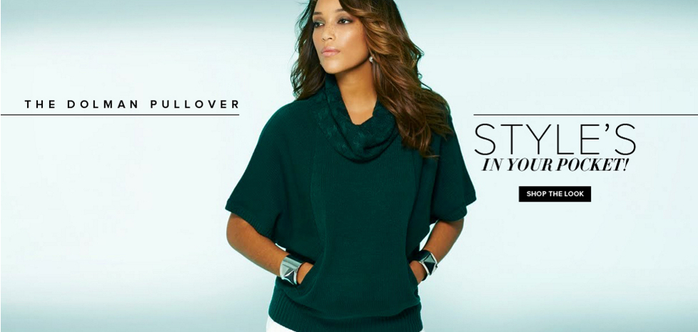 The Dolman Pullover - New York & Company