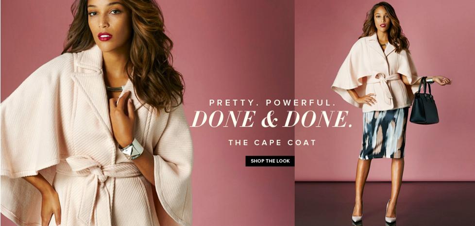 The Cape Coat - New York & Company