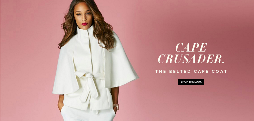 The Belted Cape Coat - New York & Company