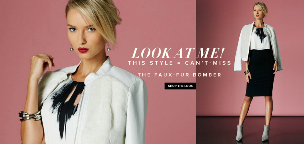 The Faux-Fur Bomber - New York & Company