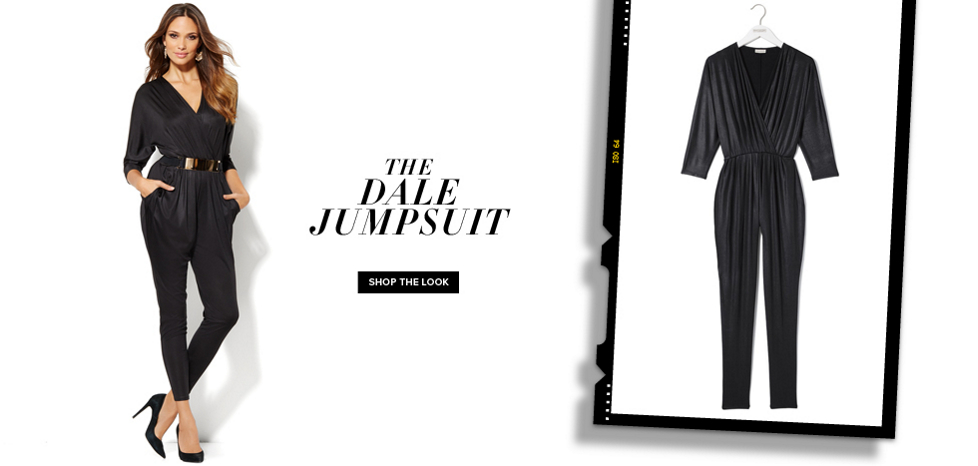 The Dale Jumpsuit - New York & Company