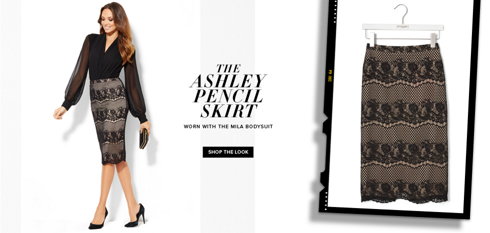 The Ashley Pencil Skirt - New York & Company