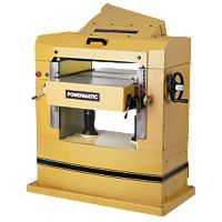 Powermatic 201HH, 22'' Planer, 7.5HP 3PH 230V, helical cutterhead