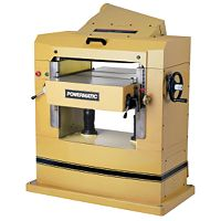 Powermatic 201HH, 22'' Planer, 7.5HP 3PH 460V, helical cutterhead