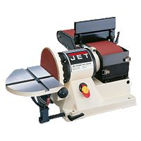 Jet JSG-96, Benchtop 6'' x 48'' Belt / 9'' Disc Sander, 3/4HP 1Ph, 115V